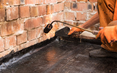 Naprawa dachu papą